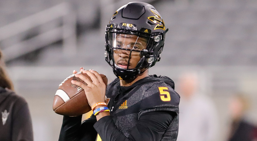 Arizona State names true freshman Jayden Daniels as starting quarterback