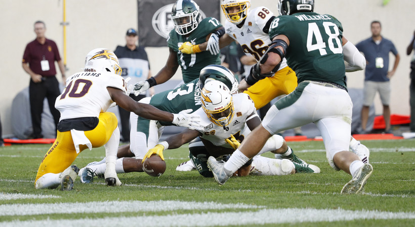 Highlights: Arizona State football upsets No. 18 Michigan State