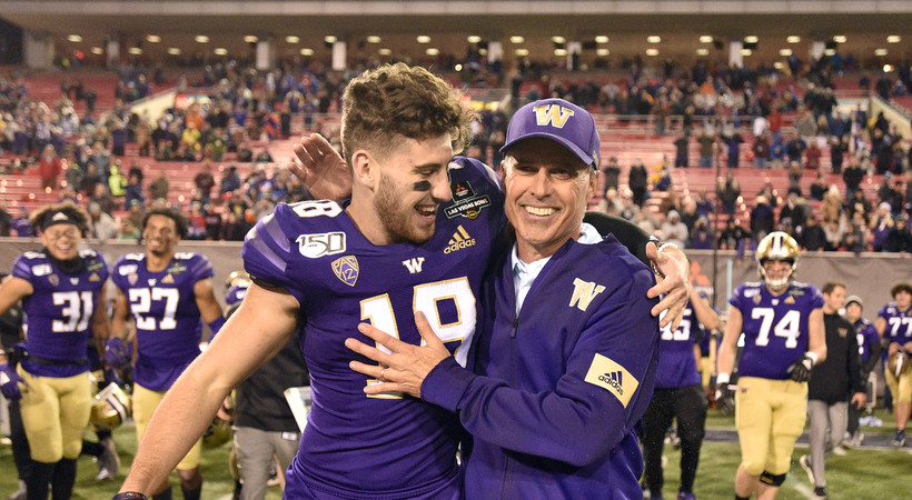Highlights: Washington football sends Chris Petersen out on top with Las Vegas Bowl win over Boise State