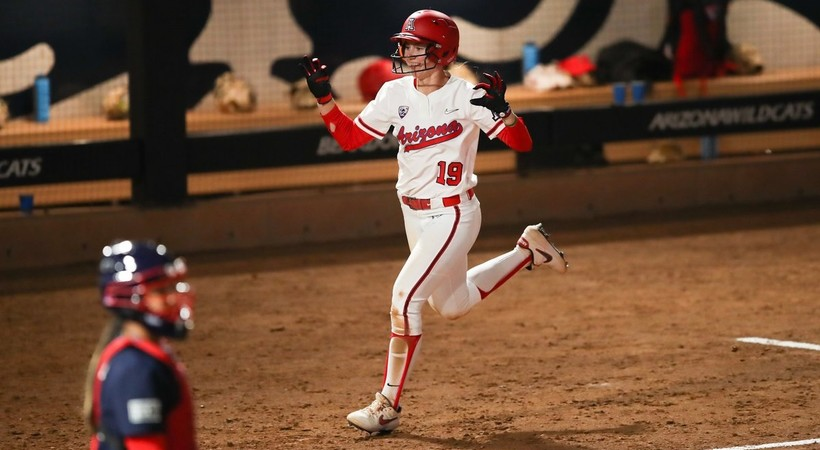 Recap: Team USA slips past Arizona softball in exhibition tilt despite Jessie Harper's pair of home runs