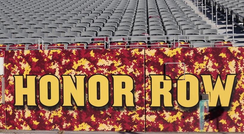 ASU's Honor Row carries long tradition of recognizing first responders, military veterans