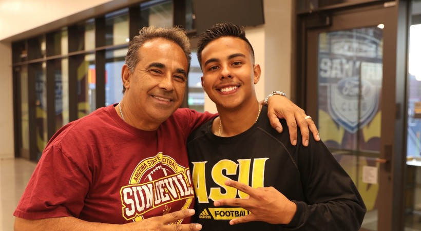 Cristian & Luis Zendejas talk family history of ASU kickers, bowl game rings