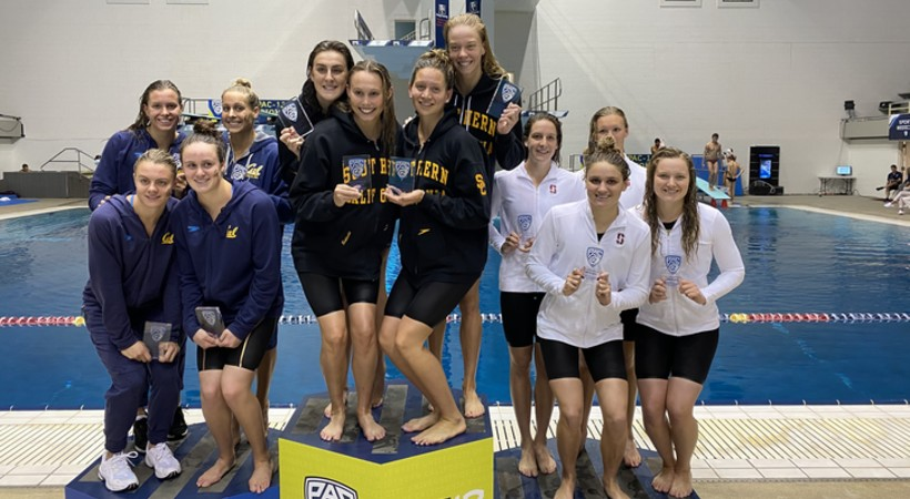 Day 1 — 2020 Pac-12 Women's Swimming and Diving, Men's Diving Championships