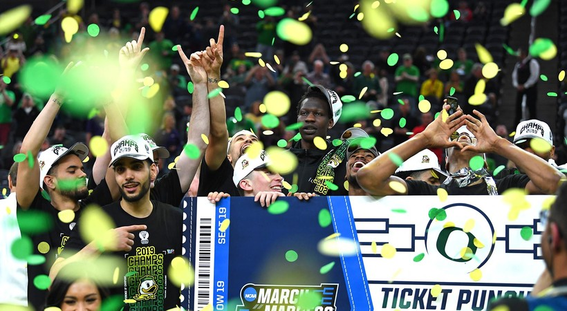 2019 Pac-12 Men's Basketball Tournament: Big second half, lockdown defense keys Oregon win over Washington in Pac-12 championship game