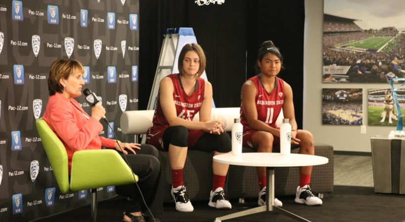 Michelle Smith Feature: Storylines from Pac-12 Women's Basketball Media Day