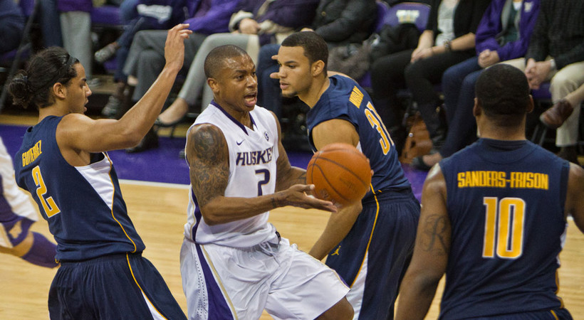 d3e0bd482d60 WASHINGTON s Isaiah Thomas was named Pac-10 Men s Basketball Player of the  Week for the week of February 7-13