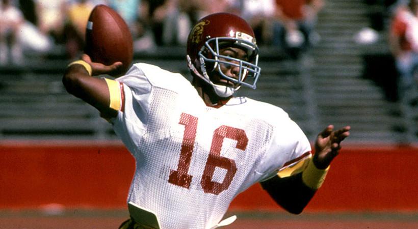 Where Are They Now: Rodney Peete   Pac-12  Rodney Peete Football Player