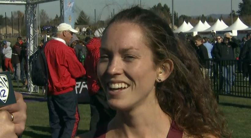 2019 Pac-12 Cross Country Championships: Fiona O'Keeffe 'so happy' to see her Stanford teammates finish 2nd and 3rd