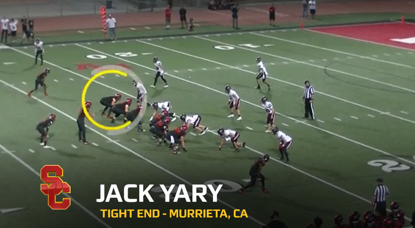 2020 National Signing Day: USC tight end Jack Yary highlights