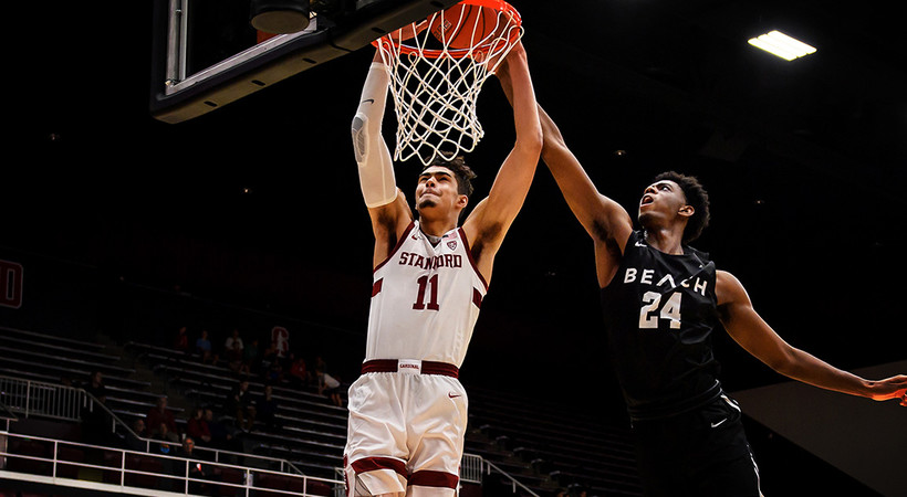 Highlights: Stanford men's basketball handles Maryland Eastern Shore behind Jaiden Delaire's career-high night