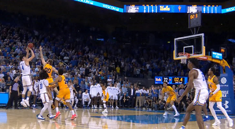 Highlight: UCLA's Jaime Jaquez Jr. hits game-winner from downtown against ASU