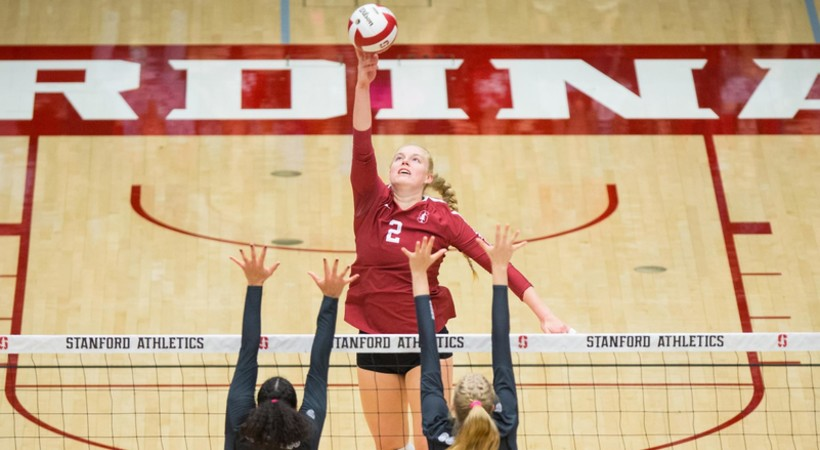 Stanford still atop Pac-12 volleyball standings as big matchups are slated this week
