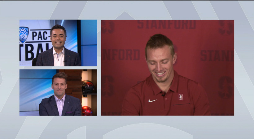 Stanford quarterback K.J. Costello relives his return to the field in win over Arizona