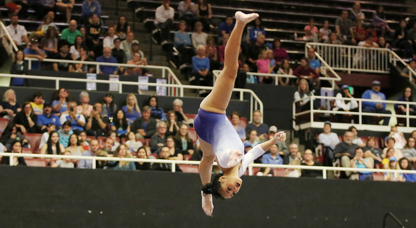 UCLA's Christine Peng-Peng Lee Named Pac-12 Gymnastics Scholar-athlete of the Year | Pac-12