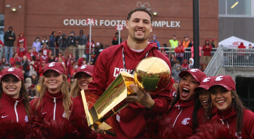 Pac-12 Networks to feature live coverage of Klay Thompson's jersey retirement at Washington State on Saturday, highlighting full slate of Pac-12 hoops this week