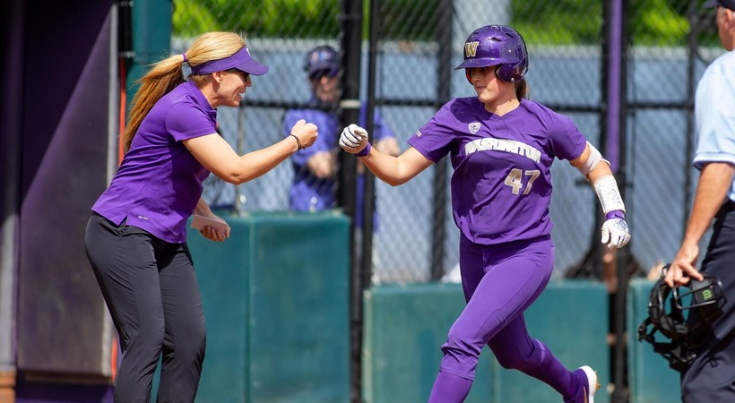 Highlights: No. 1 Washington softball squeaks out thrilling extra-innings win over No. 19 Texas Tech