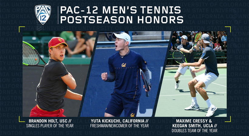0e15ed28f98f0 Pac-12 announces men's tennis 2019 postseason honors | Pac-12