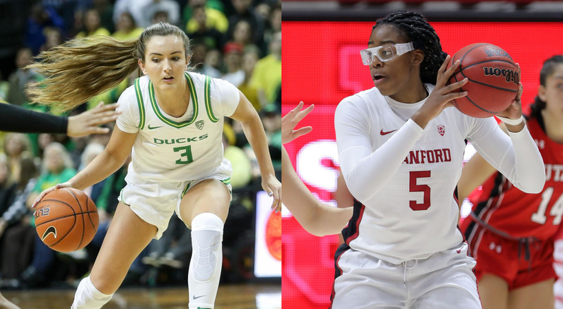 No. 3 Oregon and No. 4 Stanford lead Pac-12 teams in AP Poll (@AP_Top25)