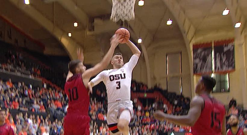 Recap: Tres Tinkle leads Oregon State men's basketball past Southern Utah