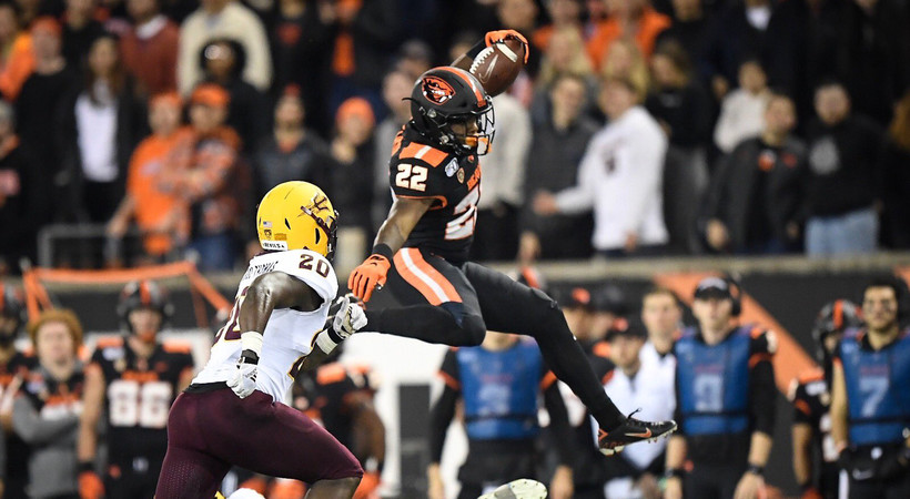 Highlights: Oregon State football outlasts Arizona State for key Pac-12 win