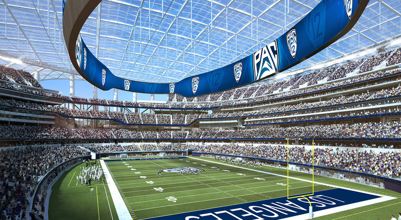 5de5d864 Pac-12 announces addition of Los Angeles Bowl in new LA Stadium to ...