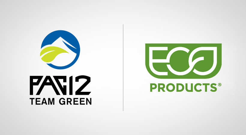 Pac-12 announces Eco-Products as Presenting Sponsor of the 2019-20 Zero Waste Challenges