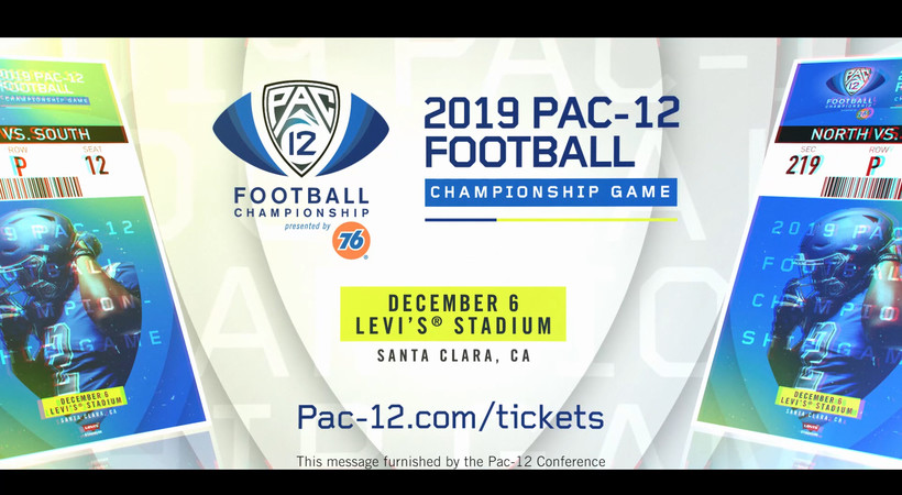 2019 Pac-12 Football Championship Game set for Dec. 6 at Levi's® Stadium