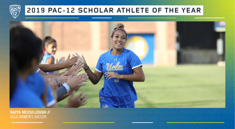 UCLA's Kaiya McCullough named Pac-12 women's scholar athlete of the year