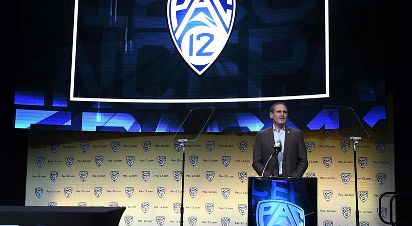 2018 Pac-12 Football Media Day: Commissioner Larry Scott previews upcoming season