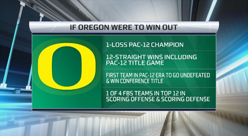 Evan Moore: Oregon's resume speaks for itself, has Ducks on CFP pace