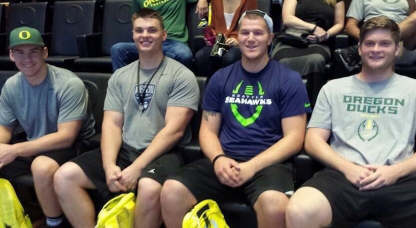 Oregon's senior offensive linemen reflect on their 5 years together