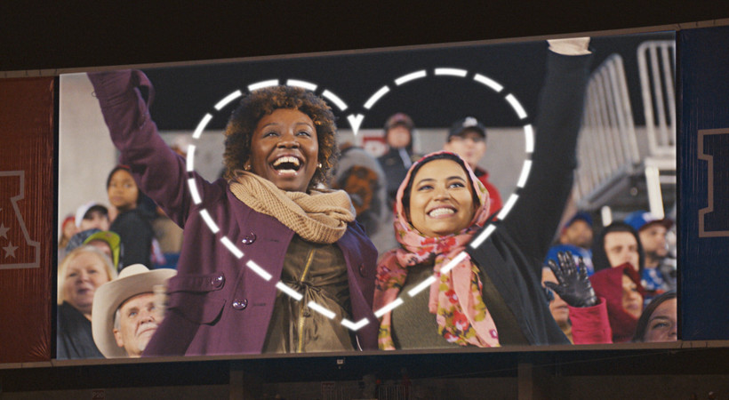 The Pac-12 is proud to support 'Love Has No Labels' (Produced by: The Ad Council)