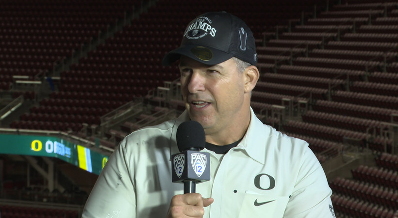 2019 Pac-12 Football Championship Game: Mario Cristobal reflects on Oregon's first conference crown since 2014