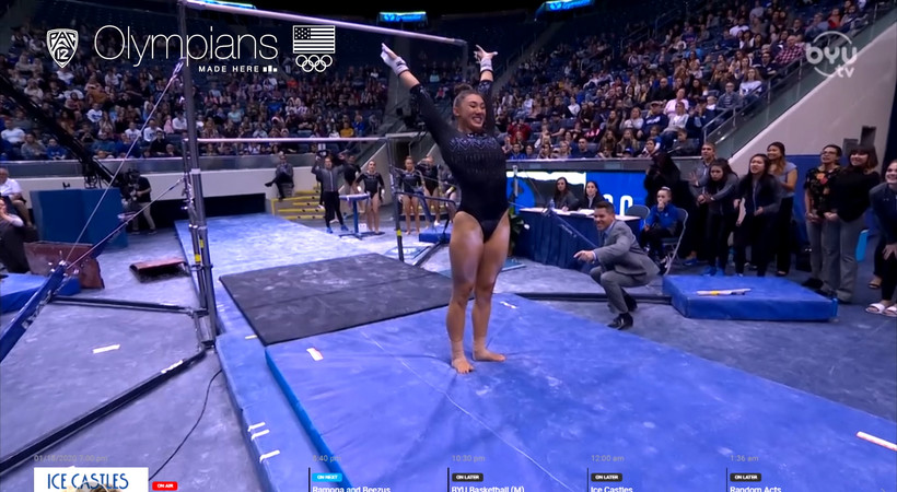 Olympians Made Here: UCLA's Kyla Ross scores 2nd straight perfect 10 on uneven bars