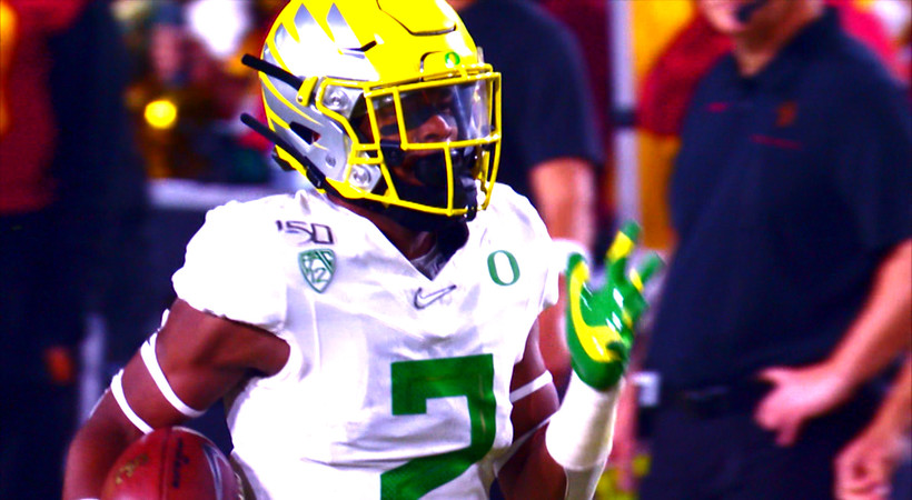 See Oregon's dominant path to the 2019 Pac-12 Football Championship Game