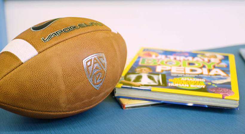 CFP Foundation & Pac-12 reveal media center makeover at Manzanita Schools in Oakland