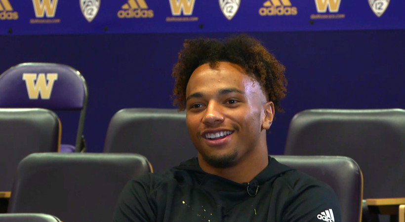 From walk-on to Saturday starter: Myles Bryant's path to Washington football stardom