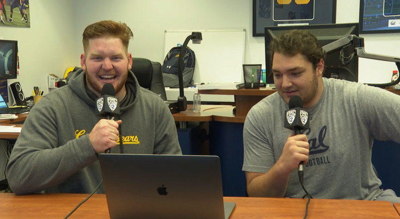 Cal's Mike Saffell and Valentino Daltoso do play-by-play on highlights from win over Washington State