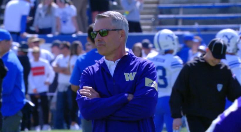 Washington's Chris Petersen discusses stepping down as head coach, Las Vegas Bowl preparation