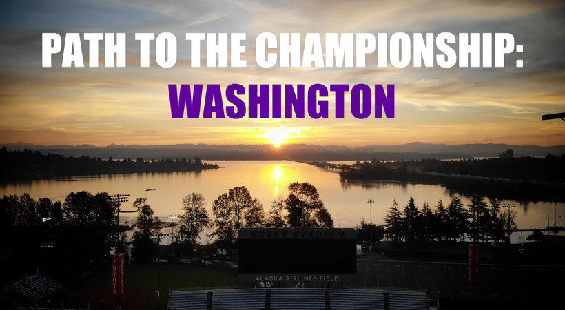 See Washington's winding path to the 2018 Pac-12 Football Championship Game