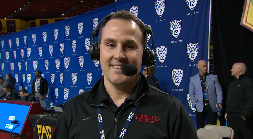 2019 Pac-12 Wrestling Championships: Jason Borrelli talks Stanford's first ever Pac-12 crown: 'We fought all day, scrapped'