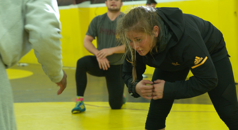 Marlee Smith inspires as Arizona State female wrestler on 'Our Stories' quick look