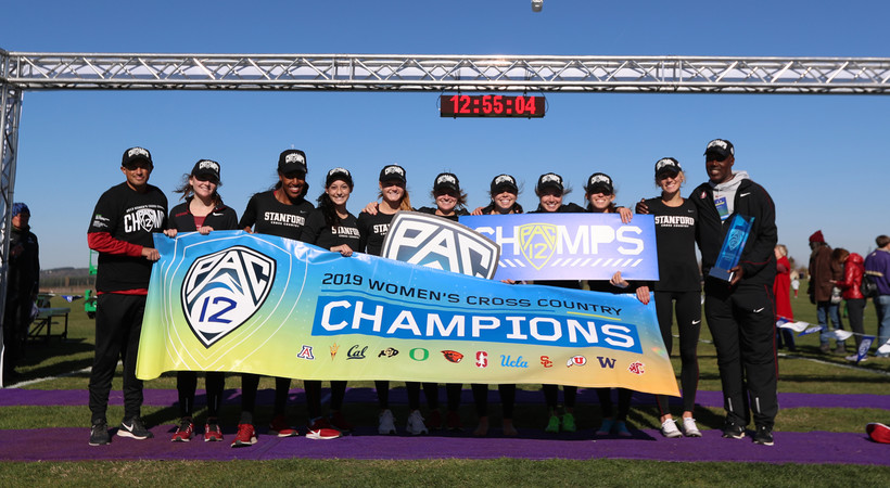 2019 Pac-12 Cross Country Championships: Stanford women finish 1-2-3 for team title