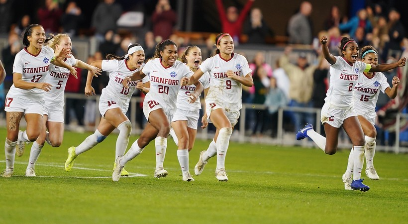 Highlights: Stanford women's soccer wins thriller on penalty kicks to take home 2019 NCAA championship