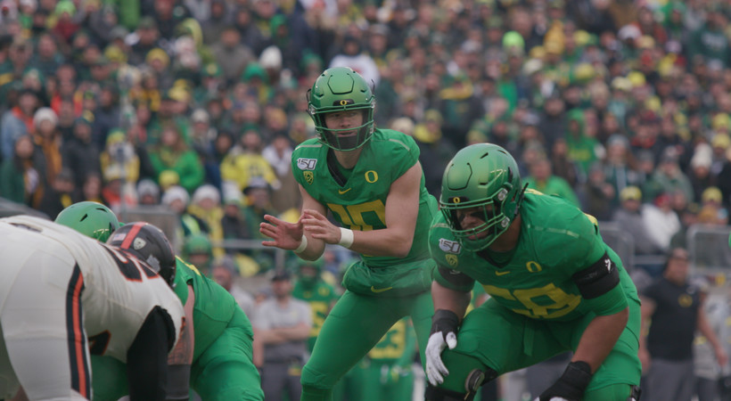 Justin Herbert, Ducks grind out Civil War win on 'The Drive' Season 7