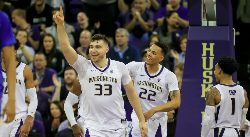 2019 Pac-12 Men's Basketball Media Day: UW's Sam Timmins part of rising Kiwi contingent in basketball
