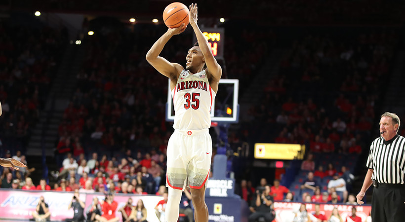 Recap: Allonzo Trier puts up career-high 32 points, No. 3 Arizona men's basketball defeats NAU