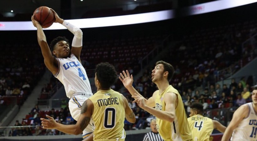 Highlights: UCLA men's basketball holds off Georgia Tech in Pac-12 China Game