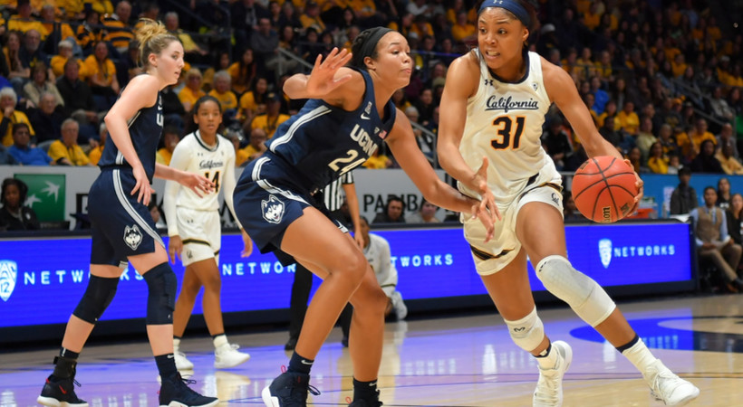 Michelle Smith Wbb Feature Cal S Kristine Anigwe Focused