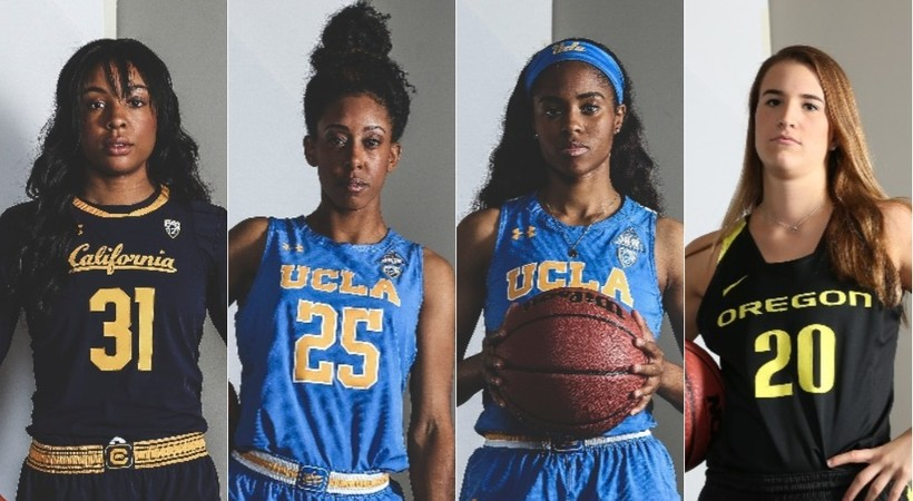 Four Pac 12 Womens Basketball Student Athletes Named To John R
